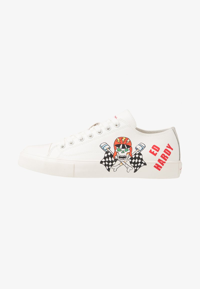 Ed Hardy - RACER  - Trainers - white