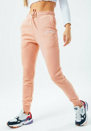 SIGNATURE - Tracksuit bottoms - pink