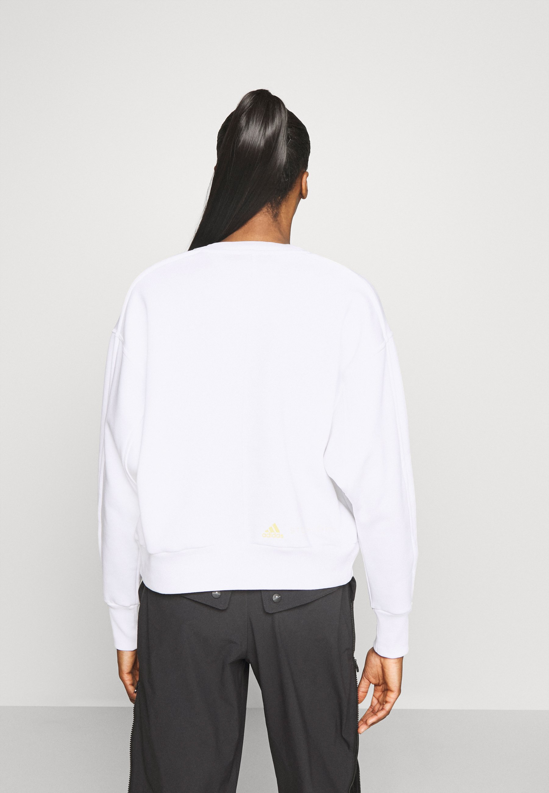adidas by Stella McCartney Sweatshirt - white XsF3B