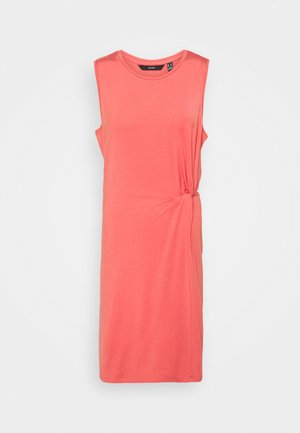 VMKIANA SHORT DRESS TALL - Jersey dress - spiced coral