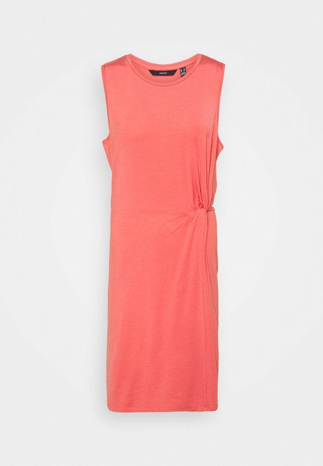 VMKIANA SHORT DRESS TALL - Žerzejové šaty - spiced coral