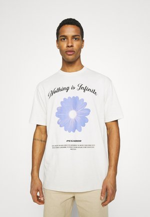 ROGERS TEE UNISEX - T-shirt print - coconut milk
