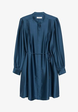 ALBANI - Shirt dress - azul