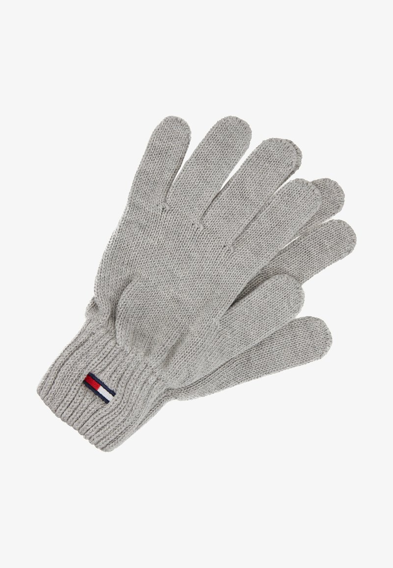 Tommy Jeans - BASIC FLAG GLOVES - Guantes - grey