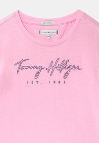 Tommy Hilfiger - LOGO - Triko spotiskem - pink - 2