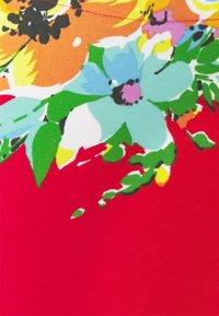 Lauren Ralph Lauren - JUDY ELBOW SLEEVE - Print T-shirt - bright hibiscus/multi - 5