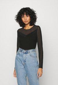 ONLY - ONLQUINN  - Long sleeved top - black - 0