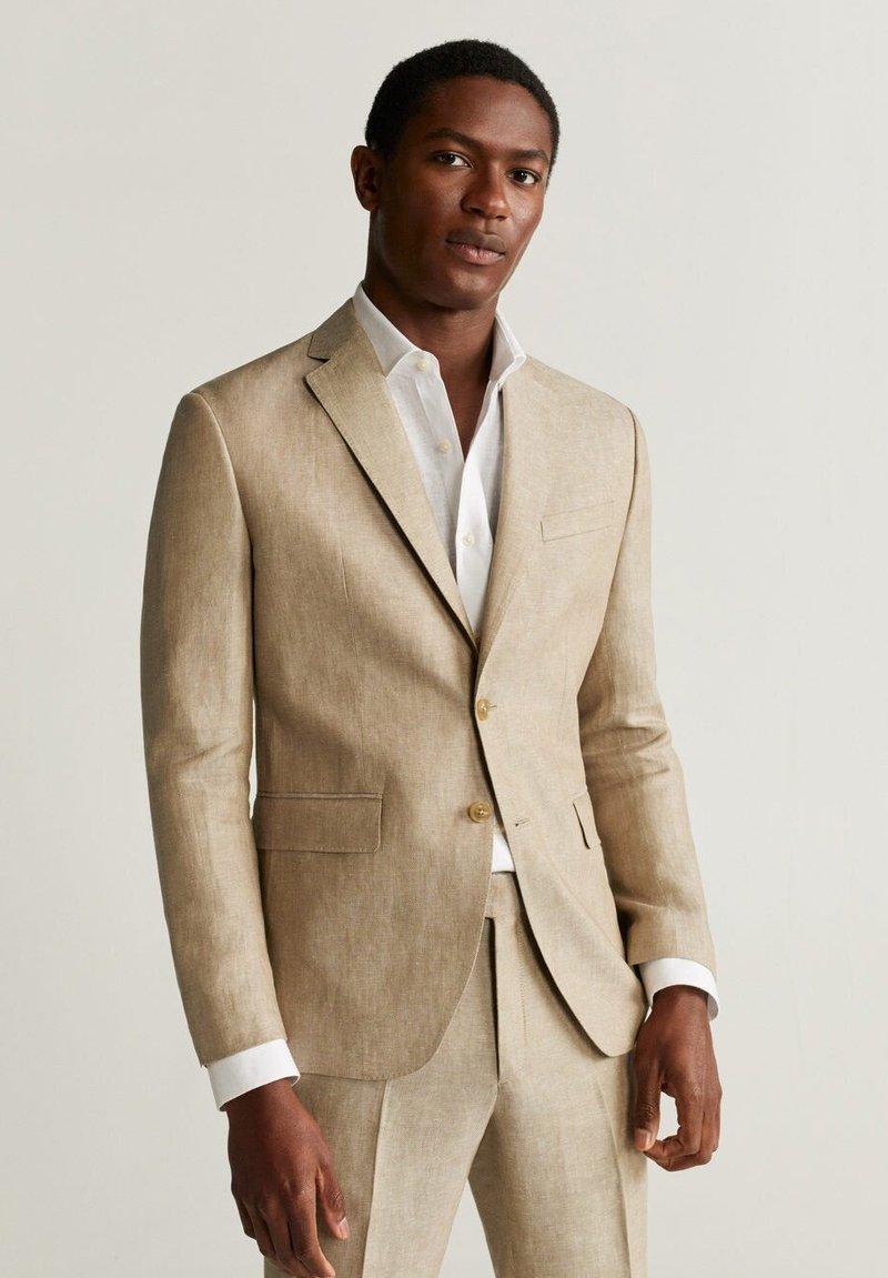 Mango - FLORIDA - Veste de costume - beige