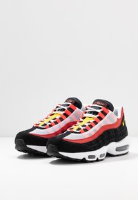 Nike Sportswear - AIR MAX - Trainers - white/chrome yello/black/crimson - 2