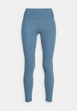 WAFFLE FULL LENGTH - Collants - copen blue