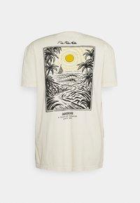 Quiksilver - SILENT DUSK SS - Print T-shirt - oatmeal - 1