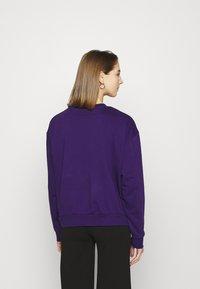 Weekday - HUGE CROPPED - Mikina - purple - 2