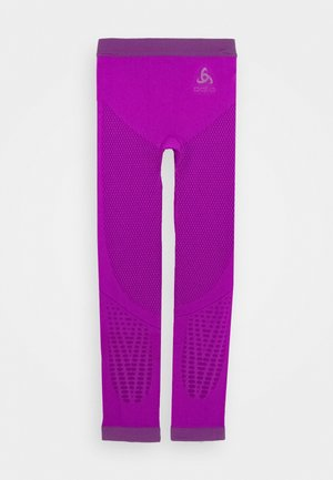 BOTTOM PANT PERFORMANCE WARM KIDS UNISEX - Base layer - purple cactus flower charisma