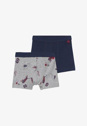 KIDS 2 PACK - Panties - hellgrau melange