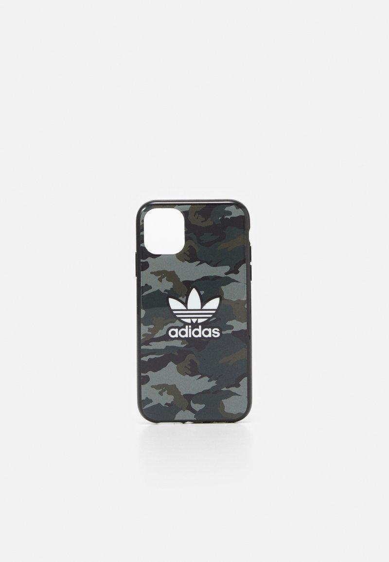 adidas Originals - UNISEX - Phone case - black/night cargo