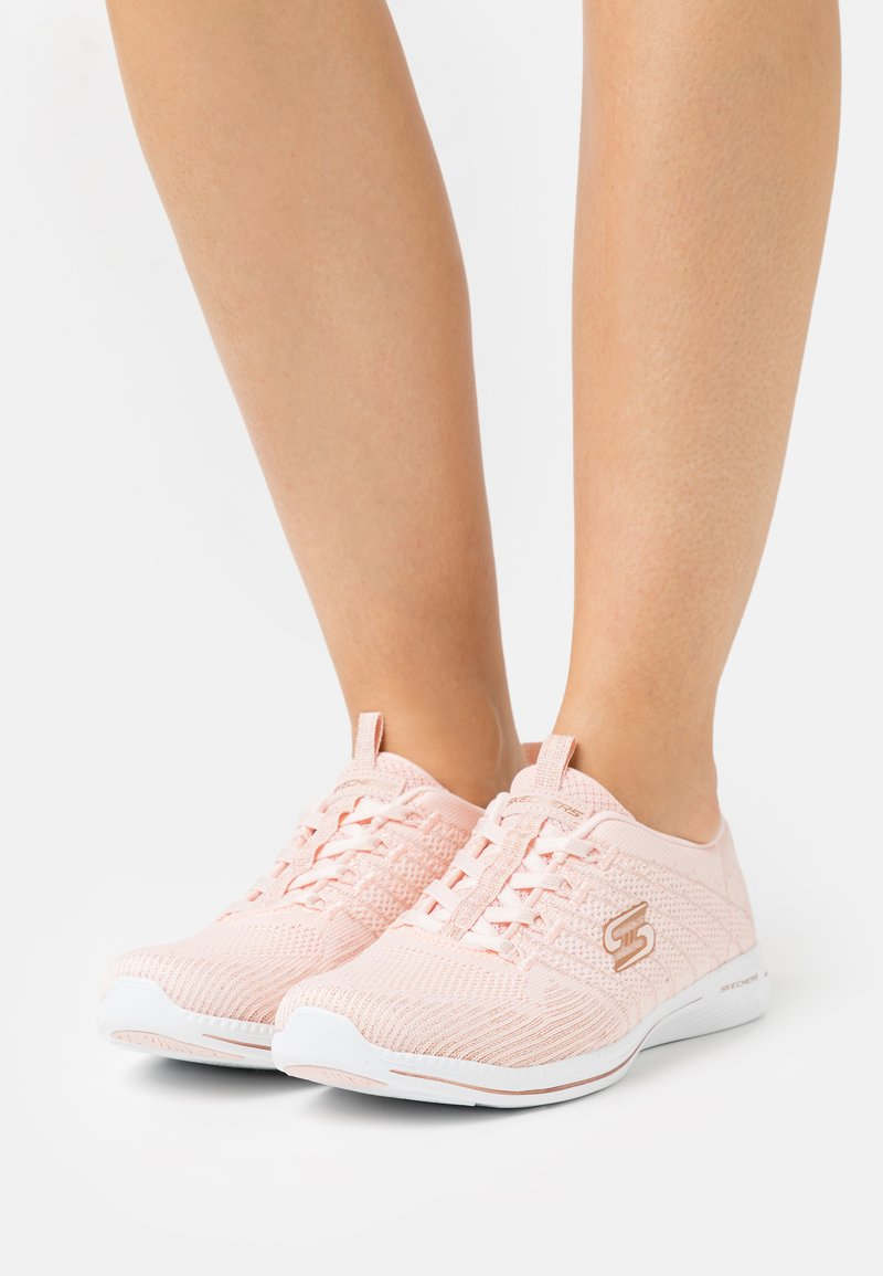 Skechers - CITY PRO - Trainers - light pink/rose gold/white