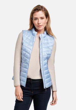 MIT STEHKRAGEN - Waistcoat - blue