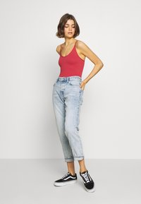 BDG Urban Outfitters - THONG STRAPPY BACK BODYSUIT - Top - mineral red - 1