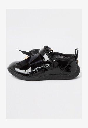 PATENT - Touch-strap shoes - black