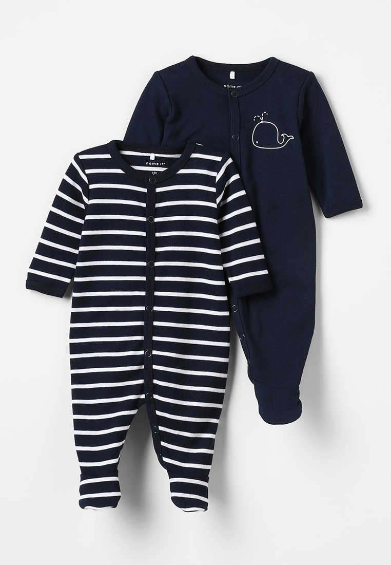Name it - NBMNIGHTSUIT BABY 2 PACK - Pyjamas - dark sapphire