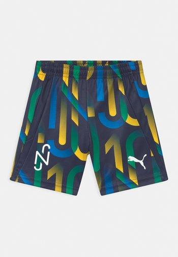 NEYMAR JR HERO UNISEX - Sports shorts - peacoat/dandelion