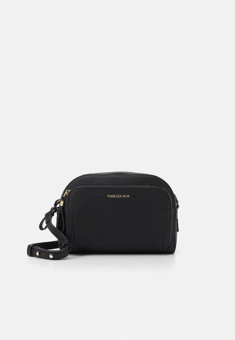 Forever New - LISA FRONT POCKET CROSSBODY BAG - Across body bag - black