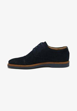 Zapatos con cordones - blue
