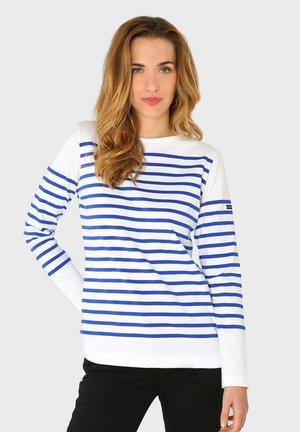 ARSENAL - MARINIÈRE - T-SHIRT - Long sleeved top - blanc/etoile