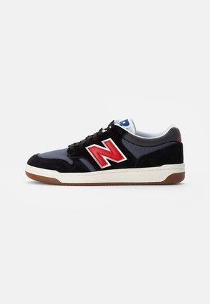 480 - Sneakersy niskie - black/red