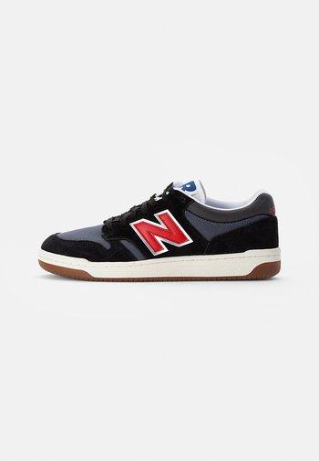 480 - Sneakers basse - black/red