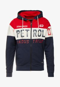 Petrol Industries - NORMAL FIT - Felpa aperta - fire red - 4