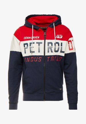 NORMAL FIT - Hoodie met rits - fire red