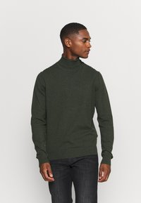 Pier One - Sweter - mottled olive - 0