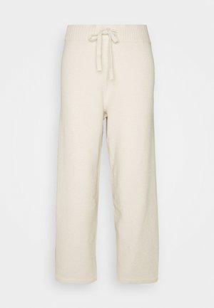 MAJA TROUSERS - Tracksuit bottoms - beige light