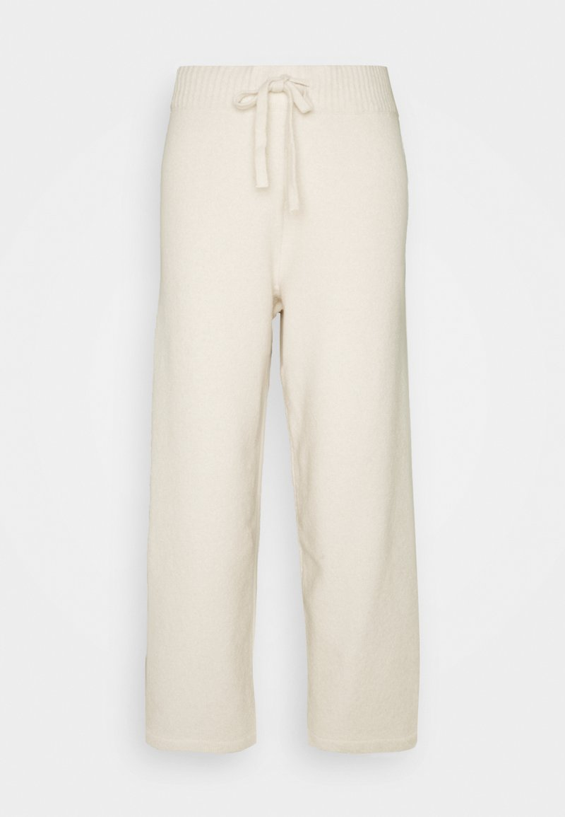 Monki - MAJA TROUSERS - Pantalones deportivos - beige light