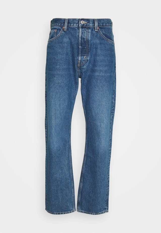 SPACE RELAXED - Jean boyfriend - sea blue