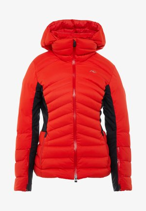 WOMEN DUANA JACKET - Ski jacket - fiery red/black
