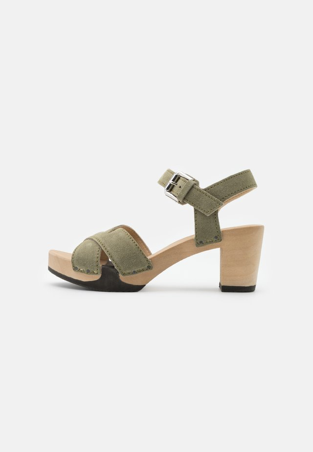 REBEKKA - Clogs - khaki