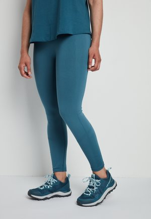 W TEKNITCAL TIGHT - Leggings - mallard blue