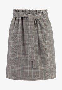 ONLY - ONLRIGIE SAVIL SKIRT - Mini skirt - light brown - 3
