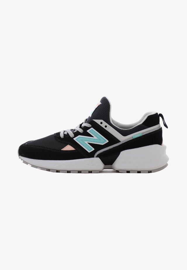 Sneakers laag -  black/blue
