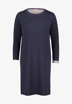 Day dress - dunkelblau grau