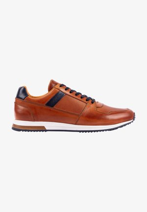 SLOW - Trainers - camel-navy