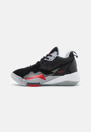 ZOOM '92 UNISEX - Basketball shoes - anthracite/black/wolf grey/gym red/white/sky grey