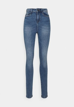 NMAGNES SUPER SKINNY - Skinny džíny - light blue denim