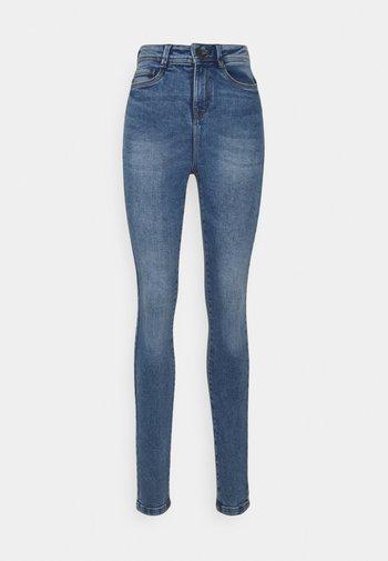 NMAGNES SUPER SKINNY - Jeans Skinny Fit - light blue denim