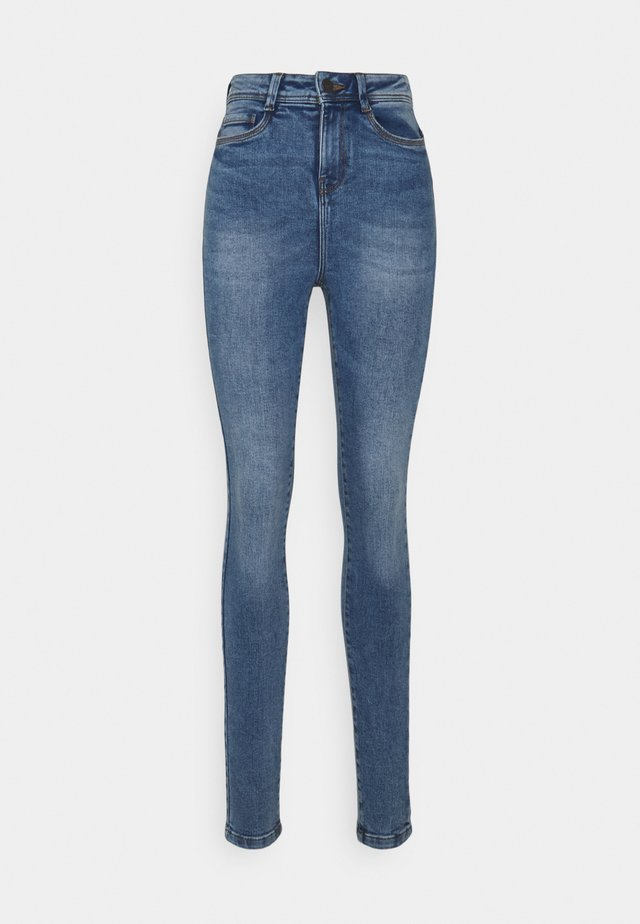 NMAGNES SUPER SKINNY - Jeans Skinny Fit - light blue denim