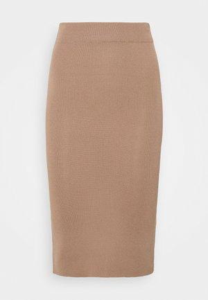 NMCELIA SKIRT - Pencil skirt - portabella