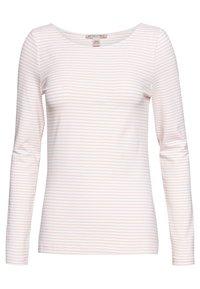 Anna Field - 2 PACK - Topper langermet - dusty pink/white - 1