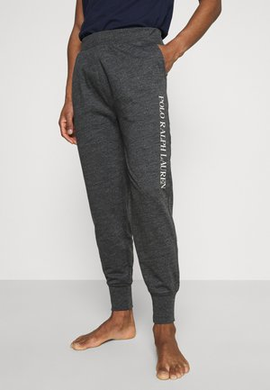 LOOP BACK - Pyjama bottoms - charcoal heather